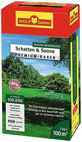 wolf garten premium rasen schatten sonne lp100. Black Bedroom Furniture Sets. Home Design Ideas