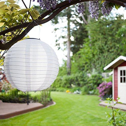 5er set solar lampions xl laterne led garten beleuchtung. Black Bedroom Furniture Sets. Home Design Ideas