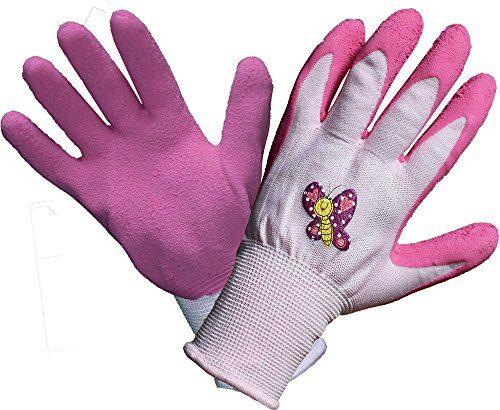 land haus shop kinder arbeitshandschuhe gartenhandschuhe kinder arbeits garten handschuhe pink. Black Bedroom Furniture Sets. Home Design Ideas