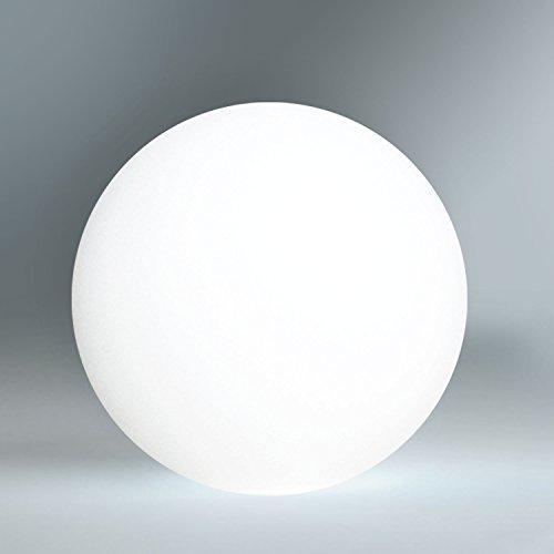 kabellose led leuchtkugel outdoor kugellampe 40cm ball mit farbwechsel und fernbedienung. Black Bedroom Furniture Sets. Home Design Ideas