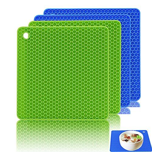 Pro-sonic® Topfhandschuhe set silikon kochhandschuhe ...