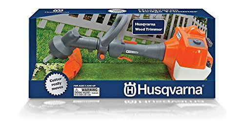 husqvarna spielzeug trimmer mit funktion kinder gartenspielzeug f r den garten. Black Bedroom Furniture Sets. Home Design Ideas