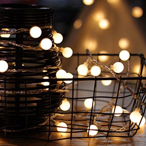 Lichterkette von mycozylite led lichterkette mit timer eu stecker 15m 100er globe - Tumblr lichterkette ...