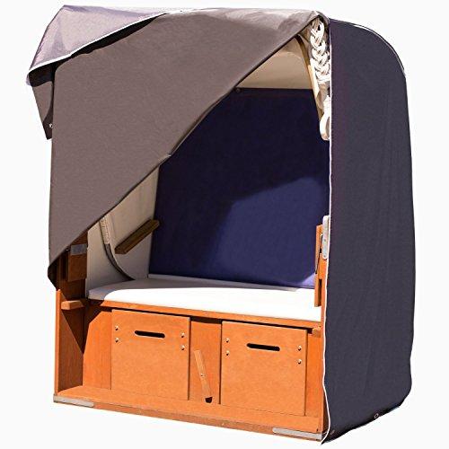 purovi garden universal strandkorb abdeckung aus hochwertigem 420d oxford gewebe f r den garten. Black Bedroom Furniture Sets. Home Design Ideas