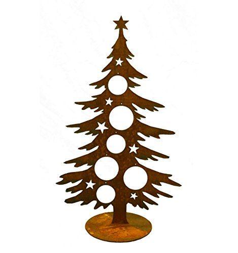 deko tanne 60 cm weihnachtsbaum f r kugeln weihnachtliche. Black Bedroom Furniture Sets. Home Design Ideas