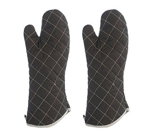 frische idee 1paar grillhandschuhe feuerfest hitzeschutz f r grill kamin ofen backofen f r. Black Bedroom Furniture Sets. Home Design Ideas
