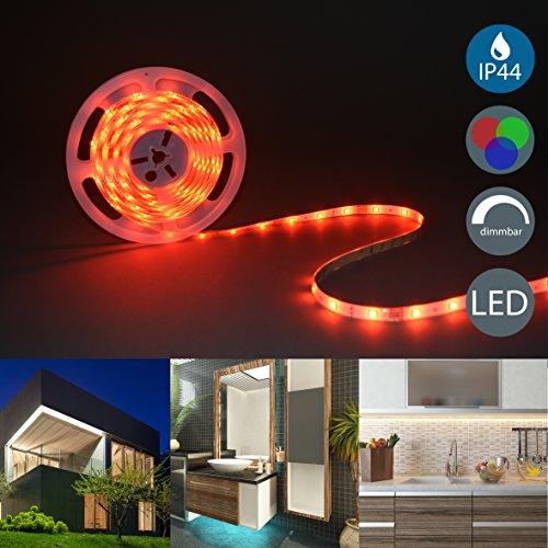 b k licht beleuchtung led stripes 5m lichterkette lichtschlauch mit farbwechsel inkl. Black Bedroom Furniture Sets. Home Design Ideas