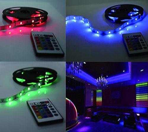 led lichterkette 5m selbstklebend led strip 1200lm led. Black Bedroom Furniture Sets. Home Design Ideas