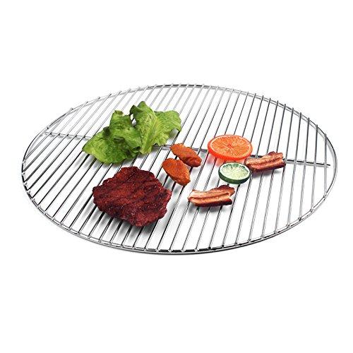 54 5cm grillgitter rund edelstahl grillrost grill kugelgrill auch weber 57 f r den garten. Black Bedroom Furniture Sets. Home Design Ideas
