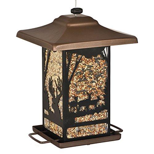 vogelfutterspender wald laterne f r wildv gel perky pet 8504 2 f r den garten. Black Bedroom Furniture Sets. Home Design Ideas
