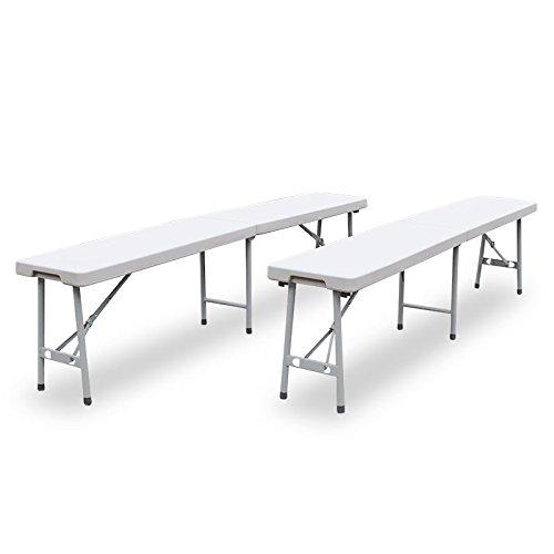 Gartentisch klappbar Partytisch Klapptisch Campingtisch Buffettisch Koffertisch