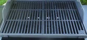 2 teiliger gusseisen grillrost 7 4 kg f r weber spirit e 210 bis 2012 griffe grill guss a. Black Bedroom Furniture Sets. Home Design Ideas