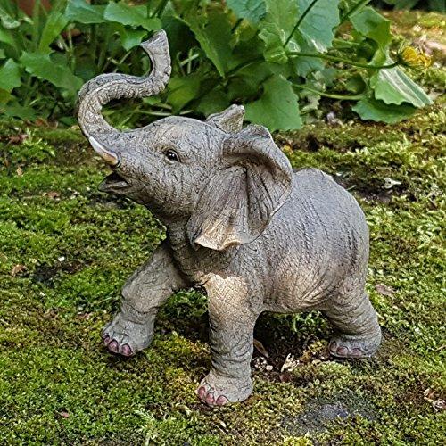 Deko Figur Elefant Afrika Dekoration Elefantenfigur