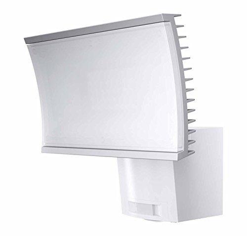 osram led flutlichtstrahler noxlite wei bewegungsmelder d mmerungssensor 23 watt warmwei. Black Bedroom Furniture Sets. Home Design Ideas