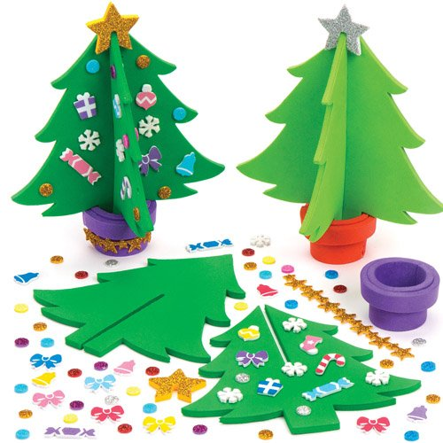 bastelsets weihnachtsbaum f r kinder zum basteln. Black Bedroom Furniture Sets. Home Design Ideas