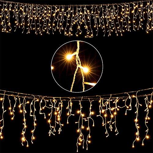 deuba led regenkette 200 leds warmwei weihnachten deko beleuchtung in outdoor schutzklasse. Black Bedroom Furniture Sets. Home Design Ideas