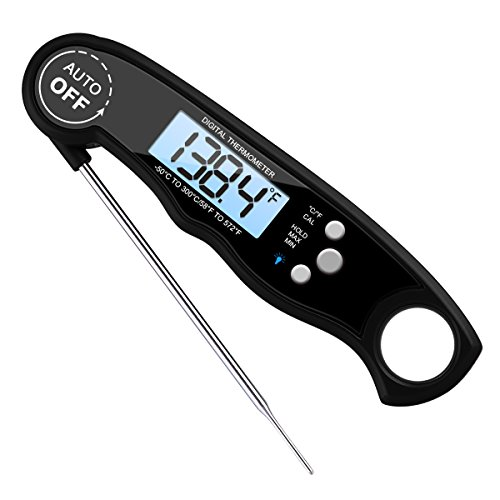 AMIR Küchenthermometer, Grill Thermometer Bratenthermometer Fleischthermometer Wasserdichte