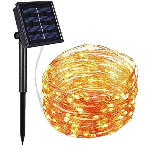 amir solar lichterkette 8 modes led solar lichterkette. Black Bedroom Furniture Sets. Home Design Ideas
