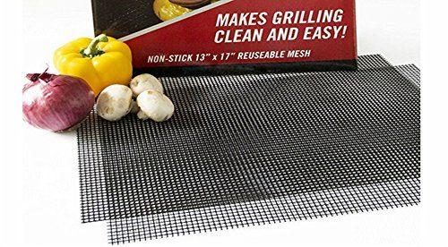 ularma teflon grillnetz bbq grillmatten wiederverwendbar backmatte 36 x 42cm 40 x 40cm f r kohle. Black Bedroom Furniture Sets. Home Design Ideas
