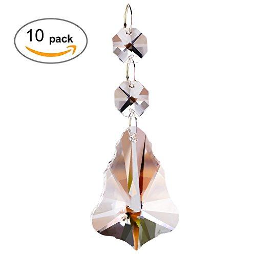 Fushing 10pcs weihnachtsbaum stil kristall perlen drop - Weihnachtsbaum vorhang ...