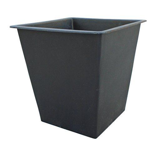 gartenfreude pflanzk bel einsatz schwarz 25 x 25 x 25 cm. Black Bedroom Furniture Sets. Home Design Ideas