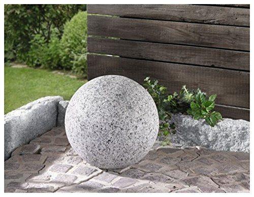 Deko kugel granit f r den garten for Granit deko garten