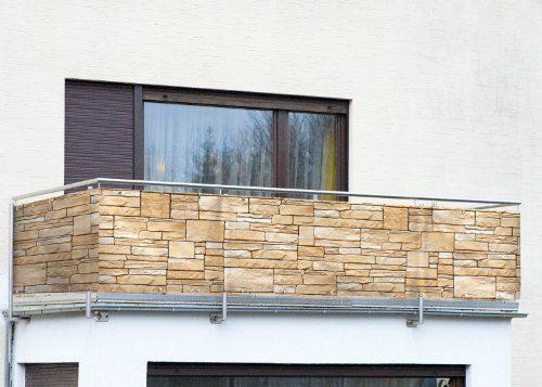 wenko balkonumspannung sichtschutz mauer f r den garten. Black Bedroom Furniture Sets. Home Design Ideas