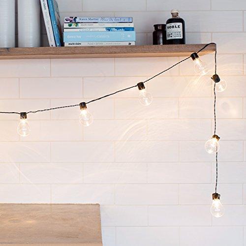 20er led party lichterkette warmwei strom innen und. Black Bedroom Furniture Sets. Home Design Ideas
