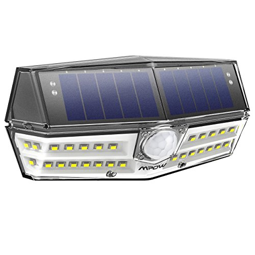 innovative version mpow solar leuchte solarlampe v llig neuer 30 led solar bewegungsmelder. Black Bedroom Furniture Sets. Home Design Ideas