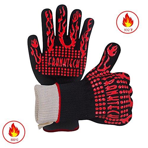 bbq handschuhe oven mitt handschutz vor grillen bbq br nde mikrowelle und andere hei e. Black Bedroom Furniture Sets. Home Design Ideas