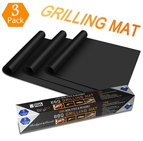 grillmatte 3er set budget good grillen und backen gasgrill holzkohle bbq anti haftend. Black Bedroom Furniture Sets. Home Design Ideas