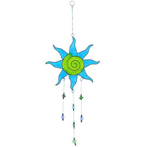 Mehrfarbige sun design h ngen suncatcher mit perlen home - Fensterdeko zum hangen ...