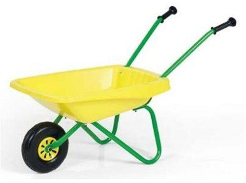 rolly toys 270873 schubkarre kinderschubkarre aus metall kunststoff f r kinder ab 3 jahren. Black Bedroom Furniture Sets. Home Design Ideas