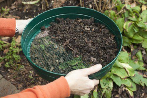 apollo gardening gartensieb aus metall 6 mm f r den garten. Black Bedroom Furniture Sets. Home Design Ideas