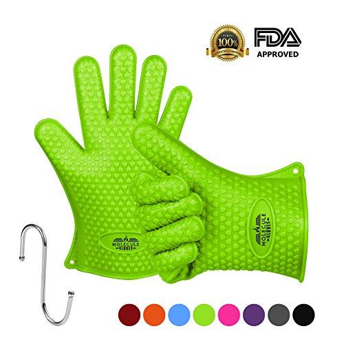 molecule silikon grillen handschuhe backen handschuhe 1 paar perfekt grillhandschuhe und. Black Bedroom Furniture Sets. Home Design Ideas
