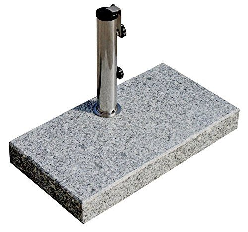prokira sonnenschirmst nder 25 kg schirme bis 200cm granit balkonschirmst nder eckig. Black Bedroom Furniture Sets. Home Design Ideas