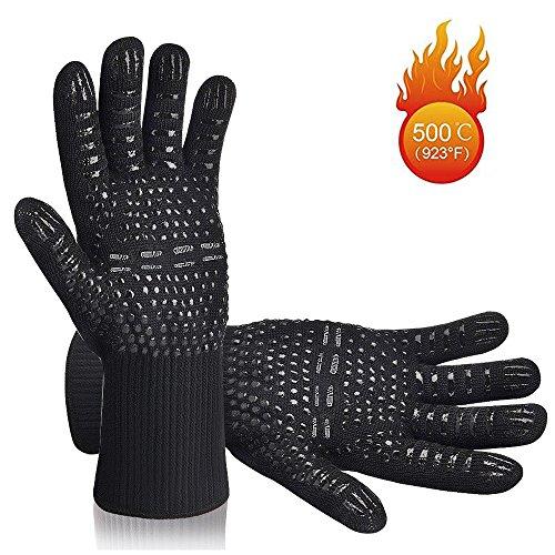 hitzebest ndig bbq handschuhe bis zu 500 c 932 f. Black Bedroom Furniture Sets. Home Design Ideas
